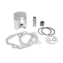 Motorcycle Piston Ring Kit Gasket Wrist Pin Bearing Set For Yamaha PW50 PW 50 1979-2009