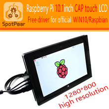 raspberry pi 10.1 inch Capacitive HDMI VGA LCD Free driver for PI3/PI2 1280x800 IPS(China)