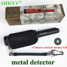 2017 NEW High Sensitive Garrett Metal Detector Pro Pointer Pinpointing Hand Held gold Detector Water-resistant with Bracelet(China)