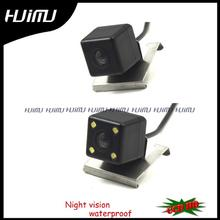 Car Reverse Parking Rear View Security Car License Plate Light Camera Wired Wireless for sony ccd Renault Duster 2013 with LEDS