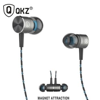 QKZ X41M Magnética Transitoria Auricular bajo Pesado Auriculares Fiebre ALTA FIDELIDAD en la oreja los Auriculares auriculares de calidad Virulenta Voces