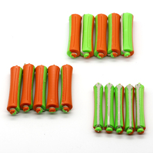 30 Pcs/Lot Hair Roller Rubber Band Wave Hair Rods 3 Sizes Perm Hair Clips DIY Curling Hair Tools(China)