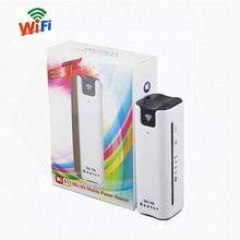 8S Yeacomm 3g WCDMA UMTS HSPA+ mini portable wifi router with sim card and power bank(China)