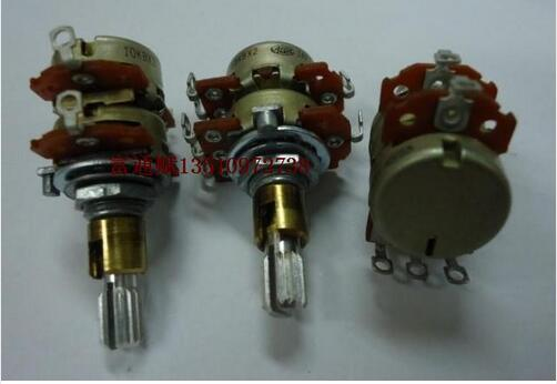 [VICKO]  Japanese ALPS double biaxial biaxial sets B10K * 2 B10KX2 20MM floral axis with a center tap SWITCHES<br><br>Aliexpress