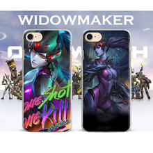 Ow Games Heroes WIDOWMAKER HANZO GENJI D.va Coque Phone Case Cover Shell For Apple iPhone 7PLUS 7 6SPLUS 6S 6PLUS 6 5 5S SE 4S