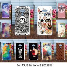Painted Covers Cases For Asus Zenfone 3 ZE552KL Zenfone3 ASUS_Z012D 5.5 inch Case Cover TPU Plastic Romactic Sky Phone Housing