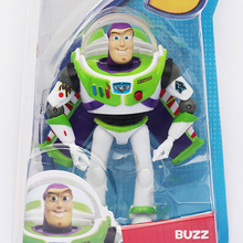 5Pcs/lot Toy Story 3 Buzz Lightyear With Wings PVC Figure Toy 15cm Approx Great Gifts(China)
