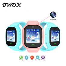 TWOX DS05 smart baby watch phone GPS Tracker kids Smart Watch with Camera for apple android Smart Electronic Watch pk q90 df25(China)