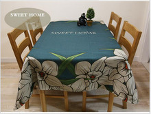 Traditonal Chinese cotton linen tablecloth cover for party Home table cloth textile decoration 4 sizes free ship