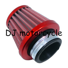 High Performance 4 Color Air Filter Cleaner For 70-150cc Honda Off Road Motorcycle 38MM Steel Air Filter 110 ATV