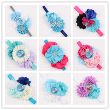 new 2015 fashion accessories winter flower bow kids hair accessories high quality fashion kids headband 12 styles 201(China)
