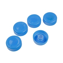 5 Replacement Gallon Water Bottle Snap On Cap Anti Splash 55mm Peel Off Tops HG4873X5(China)