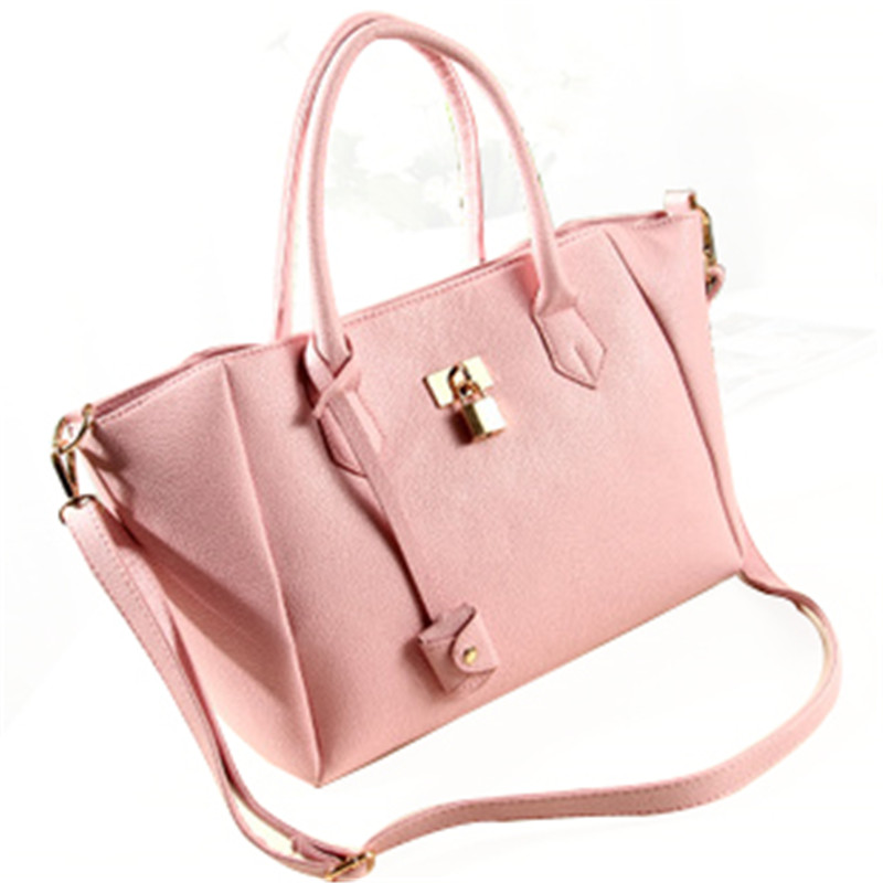 fashion handbags retro candy colored casual laptop bag big European and American style shoulder bag platinum package<br><br>Aliexpress