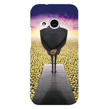 For HTC M8 mini One mini 2 Cover Beautiful Design Original Plastic Printed Cartoon Phone Case Printing Drawin Cell Phone Cases