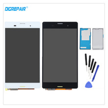 Buy 5.2'' AAA Black/White Sony Xperia Z3 L55T D6603 D6643 D6653 LCD Display Touch Screen Digitizer Assembly Parts+Adhesive+Tools for $19.99 in AliExpress store