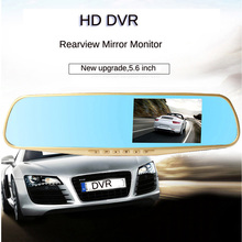 High Quality Full HD 1080P Car Rearview Mirror DVR Camera+Parking Night Vision Rear View Camera Video Recorder