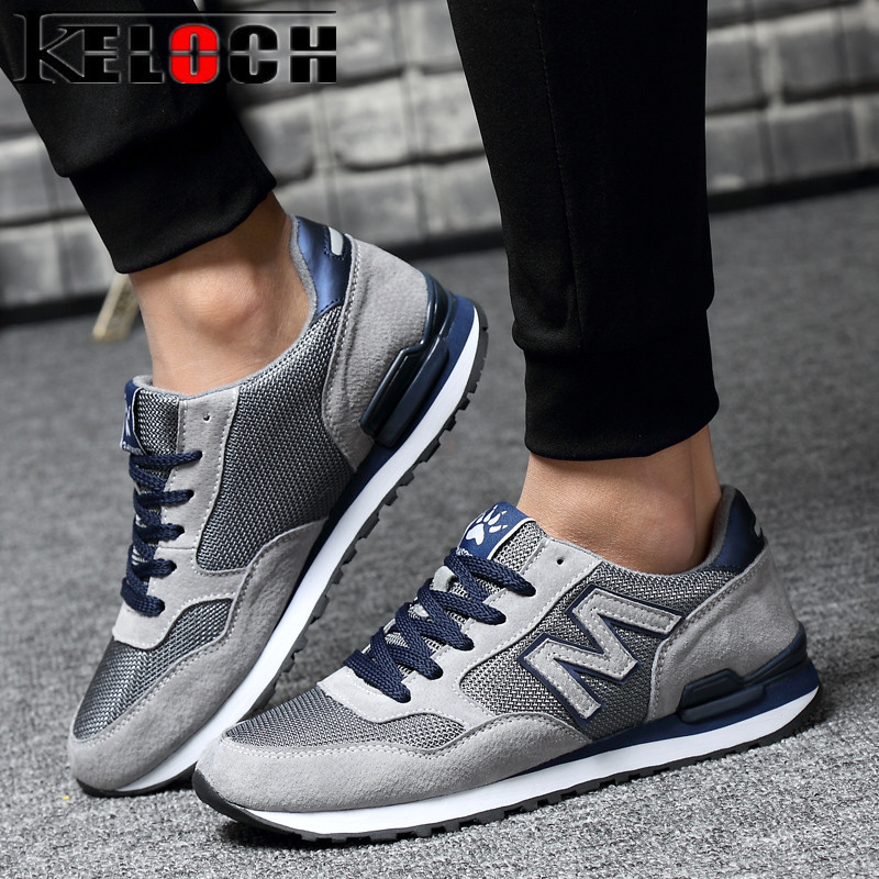 Keloch New Spring/Summer Men Lightweight Sneakers Breathable Mesh Male Women Running Shoes Comfortable Soft Walking Sport Shoes