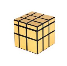 Shengshou Brand Cube Mirror 3 x 3 x 3 Magic Cube Base Fun Educational Toy Three Layers Magic Cube Brain Teaser Colorful Gift