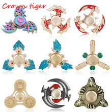 Buy EDC Hand Spinner Fidget toy Creative Funny Toy Metal Fidget Spinner tri game Autism ADHD Anti Stress finger spinner Kid Gift for $3.61 in AliExpress store
