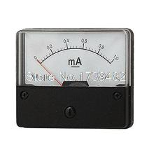 Plastic Housing DC 1mA Analog Current Panel Meter Tool(China)