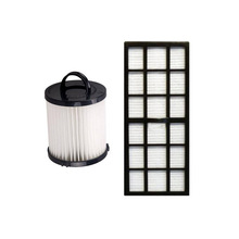 Vacuum cleaner dust hepa filters replacements Cleaning filter kits for Eureka HF-7 DCF-21 vacuum cleaner spare parts(China)
