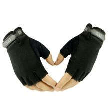Free shipping 511 Half Finger Glove Men And Women Summer Outdoors Ride Be In Luck Action Bodybuilding Tactic Real Person(China)