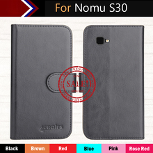 "Nomu S30 Case 5.5"" Factory Direct! Top New 6 Colors Dedicated Flip Leather Exclusive 100% Special Phone Cover Cases+Tracking(China)"