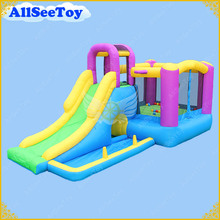 Inflatable Jumping Castle Combo Slide and Ball Pool,Bounce House For Baby,Bouncy Castle with Air Blower(China)