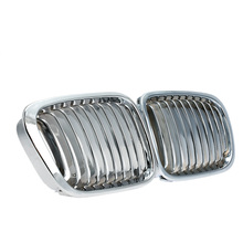 Good Selling One Pair Plated Chrome Silver Front Grille Grilles for BMW E46 4 Door 98-01