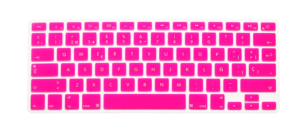Silicone spanish letter keyboard cover for macbook air pro retina 13 getsubject aeproduct spiritdancerdesigns Images