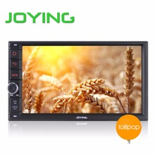 Joying Universal Quad Core Double Din New Android 5.1 Car Audio Stereo GPS 2GB+32GB Bluetooth Radio Automotive Multimedia Player