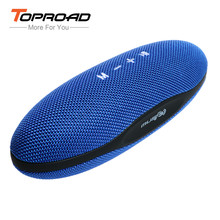 TOPROAD Dual Stereo Bluetooth Speakers Mini Portable Outdoor Wireless Speaker Stereo Soundbar TF AUX for Iphone6/6S Ipad Samsung