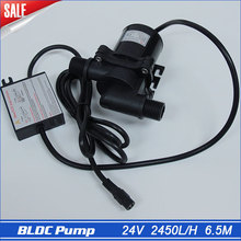 24v Submersible Solar Powered Water Pump 2450LPH 6.5M 100% Waterproof, Small Fountain Pump High Quality transfer Waterfall Pumps
