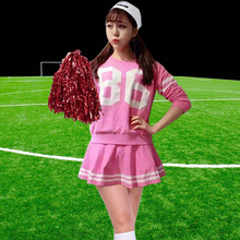 2017 Fashion Style New Womens Long Sleeves Black Blue White Pink Red Dress, Cheerleading Outfits Dresses