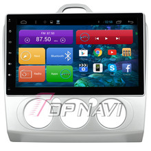 Capacitive Screen Quad Core Android 4.4 Car Radio for Focus 2 Manual With 16GB Nand Flash Memory Wifi BT Map