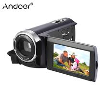 "Andoer HDV-5052STR Digital Video Camera 1080P Full HD with Night-shot Digital Camcorder 3.0"" LCD Touch Screen 16X Digital Zoom"