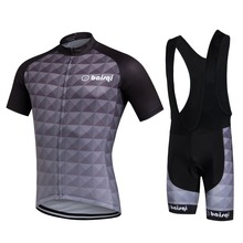 2017 Hot Short Sleeve Cycling Jersey Set For Men/ Women Cycling Wear Sport Bike Clothes+ Bib Shorts Kit Maillot Ciclismo(China)