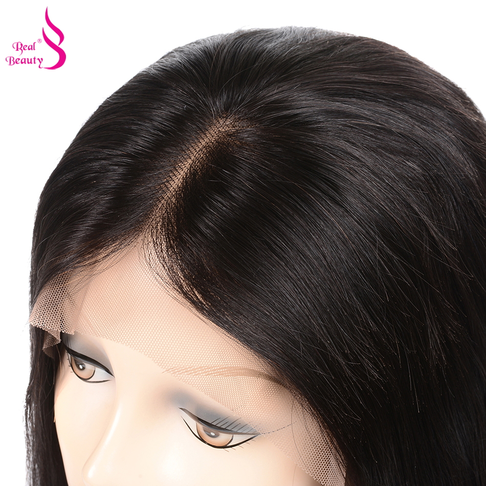 Straight Lace Front Wig Pre Plucked With Baby Hair 180% Density Lace Front Human Hair Wigs Honey Remy Real Beauty Hair (13)