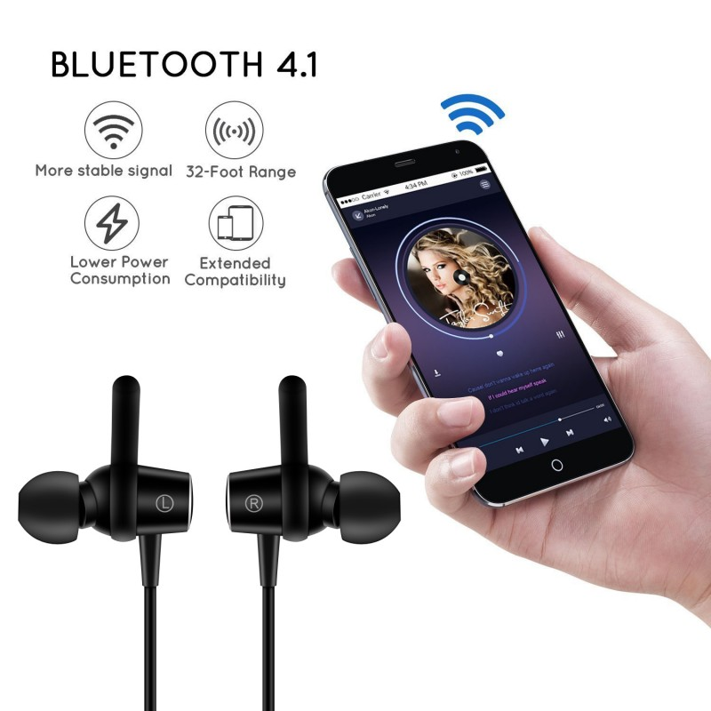 Bluetooth Earphone For Nokia 1 2 3 5 6 7 plus 8 sirocco 9 2.1 3.1 5.1 6.1 X6 2018 Sports Wireless Headphones Case Music Headset