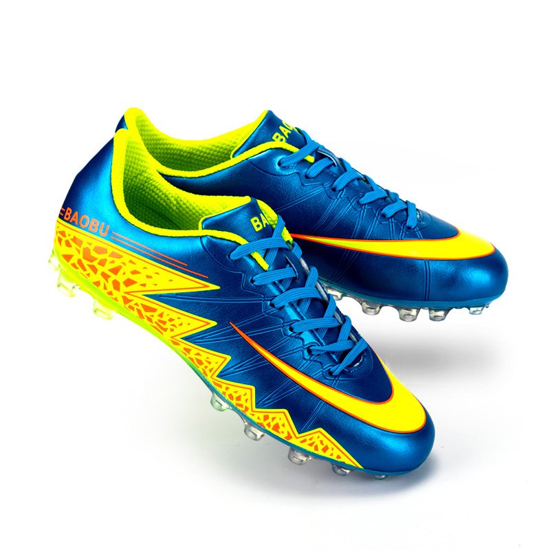 New Mens Kids Soccer Cleats Firm Ground FG Soccer Shoes Outdoor Football Trainers Shoes Sports Sneakers for Soccer<br><br>Aliexpress