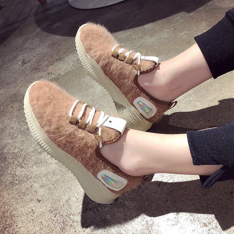 SWYIVY Casual Loafers Shoes Swomen Flat Flock Cross Strap 2019 Spring New Vulcanized Shoes Fashion Women