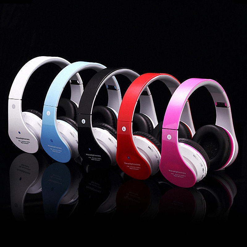 NEW Multi-Function Stereo Earphone Collapsible Wireless Headset Bluetooth Noise Canceling Headphones Support Card Mp3 Player<br><br>Aliexpress