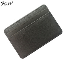 New arrival high quality PU leather+suede men money clips magic wallets Korea fashion mini purse green and orange XF001