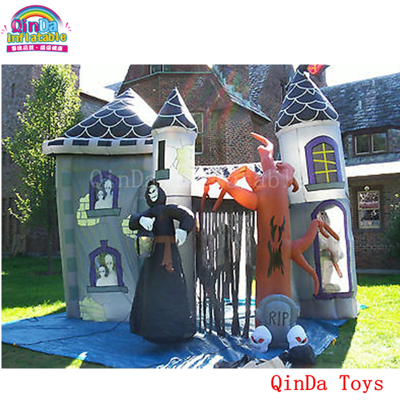 inflatable haunted house15