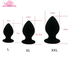 Buy 7.2/6.2/5.2cm Diameter Super Big Size Silicone Anal Plug Sex Toys Men Woman Gay Suction Huge Large Butt Plug Anal Sex Toys
