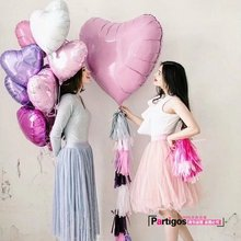 75cm Big Red Heart Shape Foil Balloons Valentines Day Wedding invitations Party Easter Supplies Decoration Balloon Love globos(China)