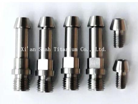 Titanium TC4 V Brake Boss / Stud M8 x 1.25mm / M10 x 1.25mm*4pcs + Titanium Conical Head Fixing Bolts*4pcs + Cable Bolts*2pcs<br>