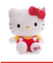 NEW STuffed animal red hello kitty about 43cm plush toy 17 inch soft Toy birthday gift wt995(China)