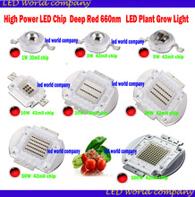 High Power LED Chip for Plant Growing Deep Red 660nm 1W 3W 5W 10W 20W 30W 50W 100W Emitter for Plant Growing Tank Aquarium