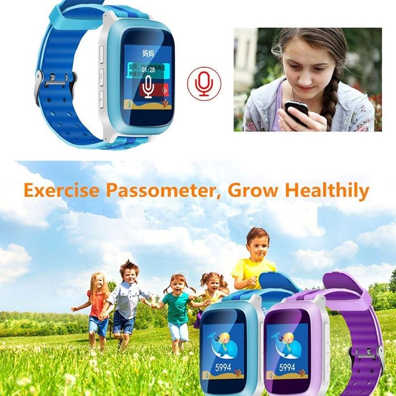 (10Pcs/Lot)Smart Phone GPS Watch Children Kid Wristwatch DS18 GSM GPS WiFi Locator Tracker Anti-Lost Smartwatch Child PK Q80 Q90